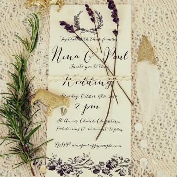 Bespoke, Handcrafted, Seasonal – Wedding Style by Nina Marika